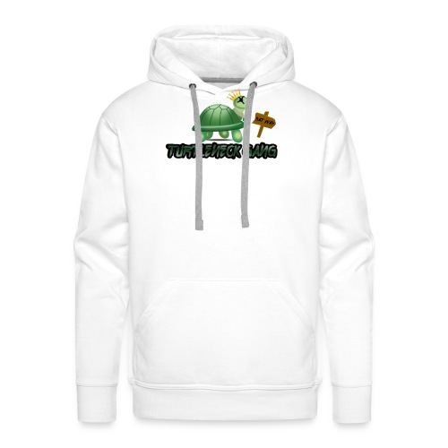 Turtle Neck Design 1 - Men's Premium Hoodie