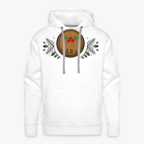CHRISTMAS PUDDING - Men's Premium Hoodie