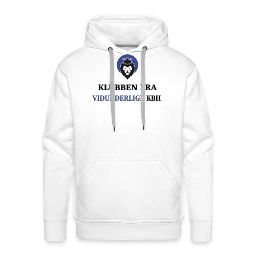Klubben fra vidunderlige KBH (Kun få tilbage!) - Herre Premium hættetrøje