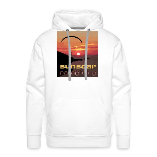 sunset flying - Men's Premium Hoodie