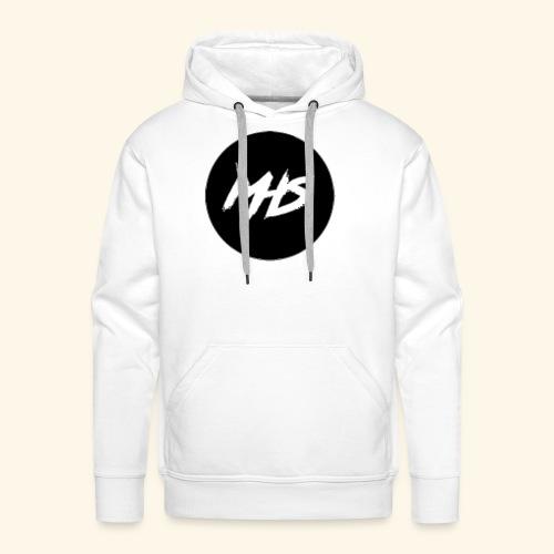 Watermerk - Zwart - Mannen Premium hoodie