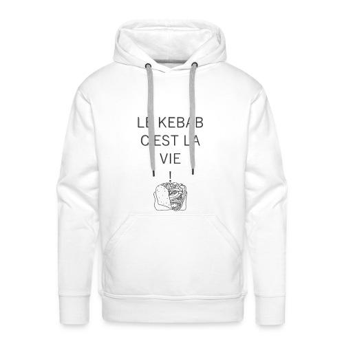 kebab - Sweat-shirt à capuche Premium pour hommes