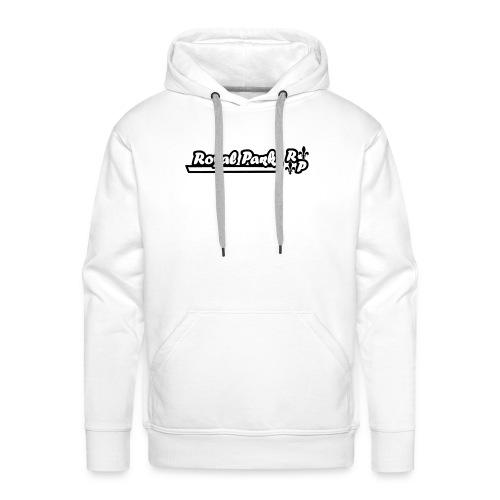 royal park trademark - Sweat-shirt à capuche Premium pour hommes