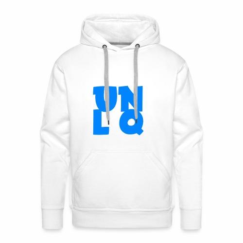 Mit dem Orginalen UNLQ Logo - Männer Premium Hoodie