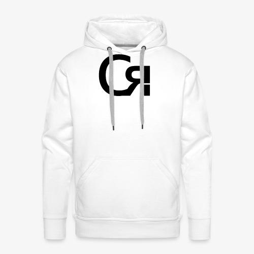 logo cr - Sweat-shirt à capuche Premium pour hommes