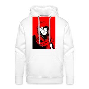 L'homme rouge représente la terre rouge d'Afrique. - Sweat-shirt à capuche Premium pour hommes