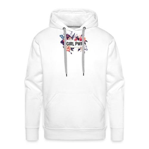 pawer girl - Sweat-shirt à capuche Premium pour hommes