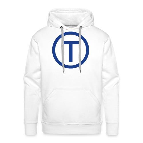 techwiz logo - Men's Premium Hoodie