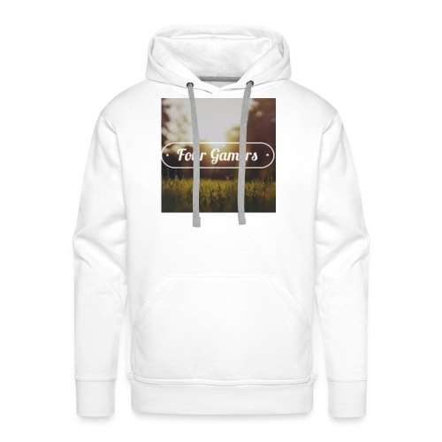 Four Gamers Mok - Mannen Premium hoodie