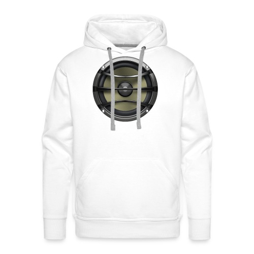 Lautsprecher - Männer Premium Hoodie