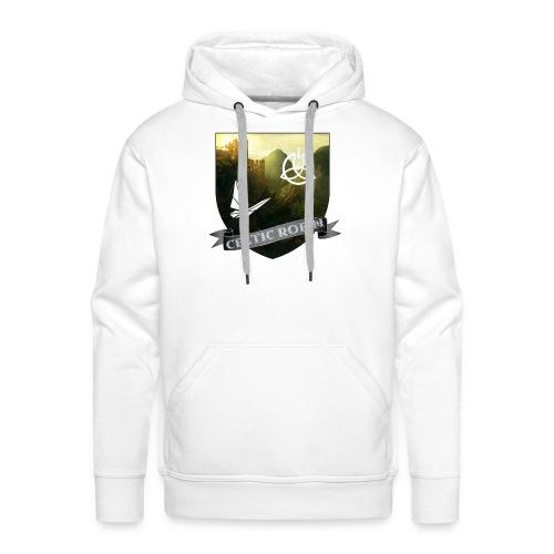 Blason logo de la chaîne - Sweat-shirt à capuche Premium pour hommes