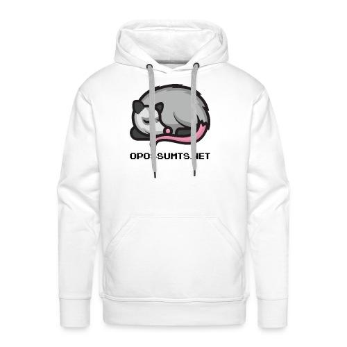 OpossumTS-Logo mit Schrift - Männer Premium Hoodie