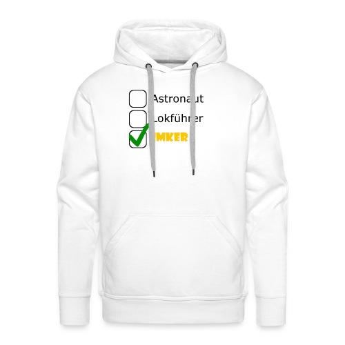 Astronaut, Lokführer, Imker - Männer Premium Hoodie