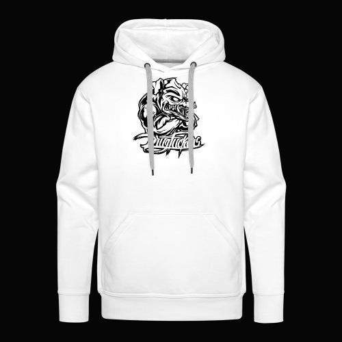 Drug_Fuckers_Logo _-_ Composition_01-_black - Men's Premium Hoodie