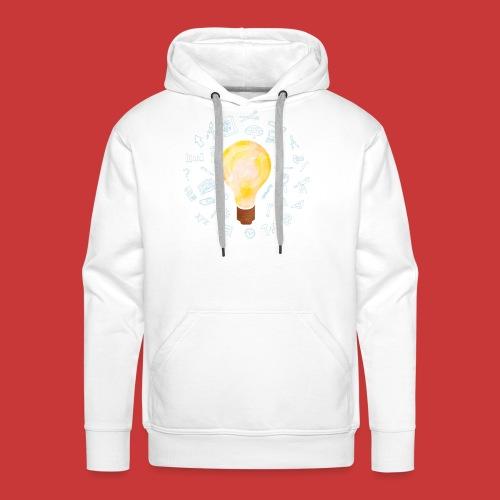 5 IDEEN Glühbirne 2018 - Männer Premium Hoodie