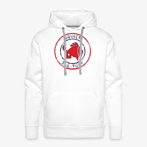 Tampon Rouget - Sweat-shirt à capuche Premium pour hommes
