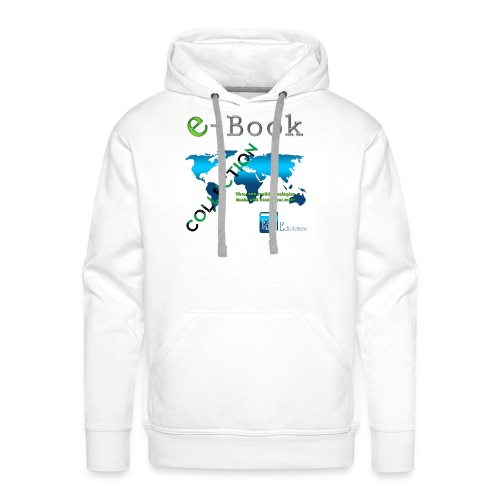 E-Book Collection - Sudadera con capucha premium para hombre
