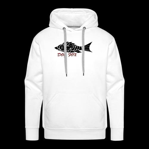 Dogfox Fisch - Männer Premium Hoodie
