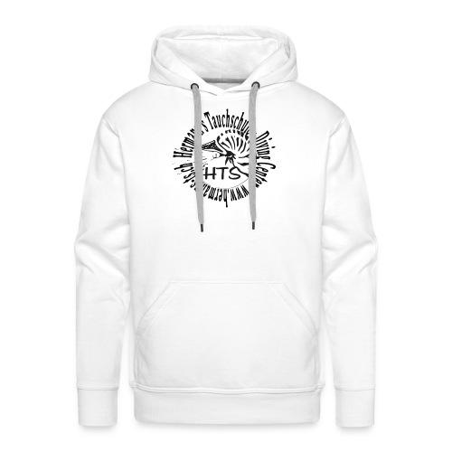 HTS Logo weiss - Männer Premium Hoodie