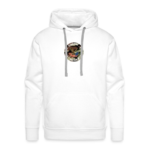 EXOTIC logo and circle - Men's Premium Hoodie
