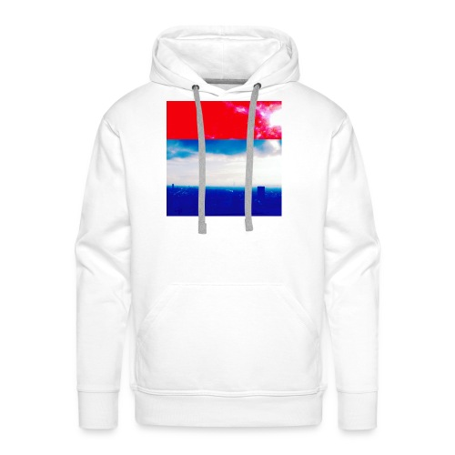 Paris Ciel - Sweat-shirt à capuche Premium pour hommes