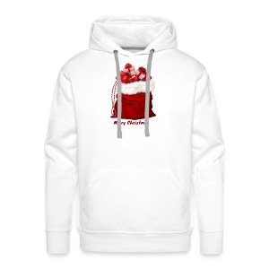 merry christmas shopping - Men's Premium Hoodie