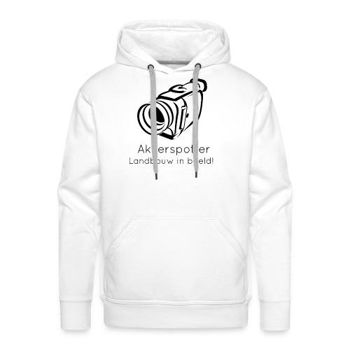 Logo akkerspotter - Mannen Premium hoodie