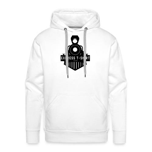 TRAIN EXPRESS T SHIRT - Sweat-shirt à capuche Premium pour hommes