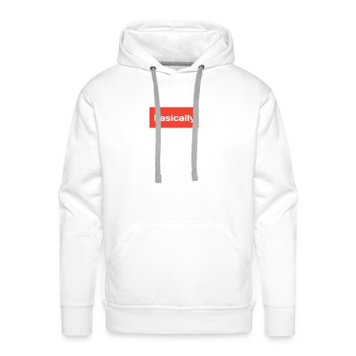 Basically merch - Men's Premium Hoodie