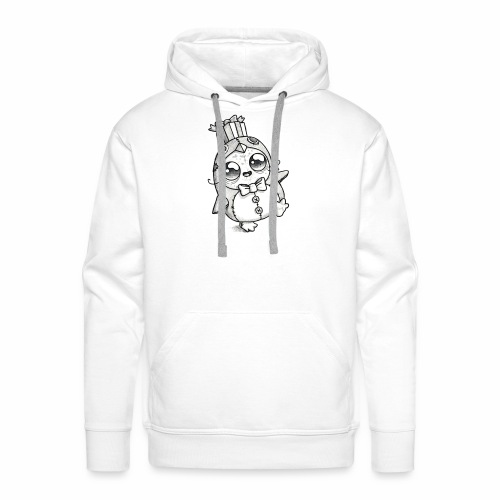 zombie pingvin - Herre Premium hættetrøje