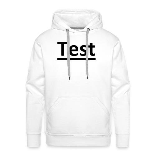 Test - Männer Premium Hoodie
