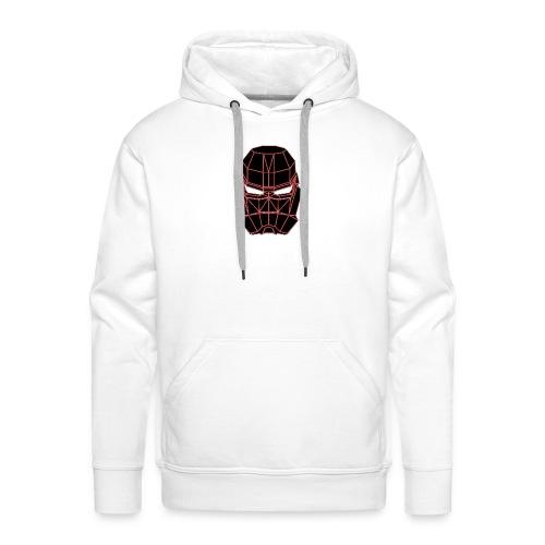 rouge masque spatial - Sweat-shirt à capuche Premium pour hommes