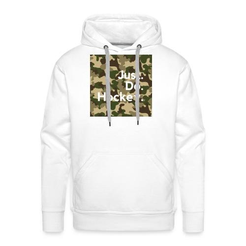 Just.Do.Hockey 2.0 - Mannen Premium hoodie