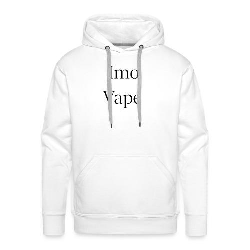 ImoVape - Sweat-shirt à capuche Premium pour hommes