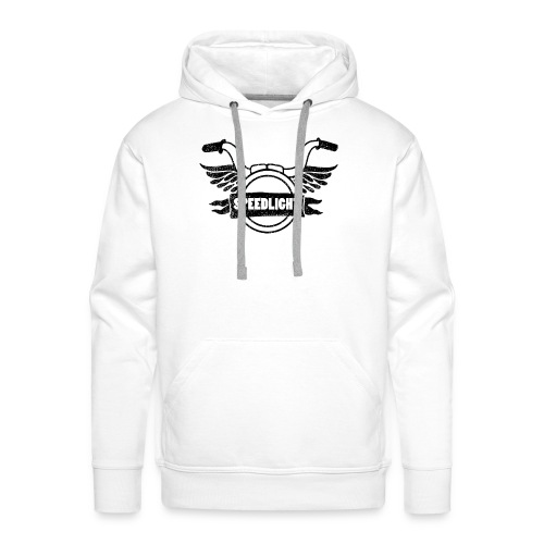 speedlight logo Print - Männer Premium Hoodie