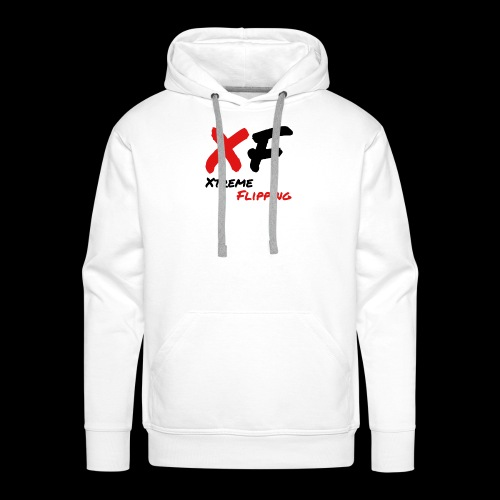 Xtreme Flipping Black logo - Men's Premium Hoodie