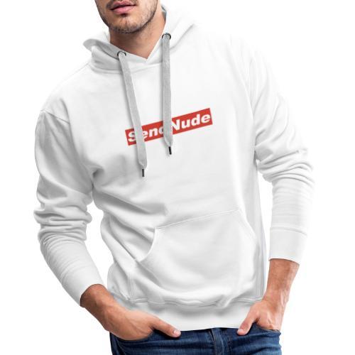 SENDNUDE - LIMITED EDITION - Sweat-shirt à capuche Premium pour hommes