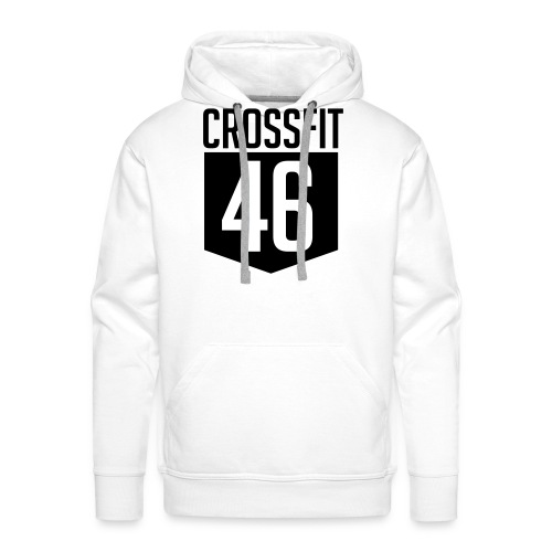 CROSSFIT46 big logo - Premium hettegenser for menn
