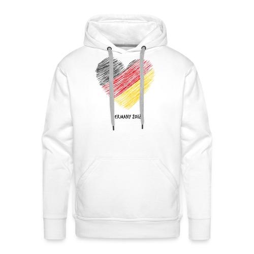 Fußball WM – Deutschland-Shirt - Männer Premium Hoodie