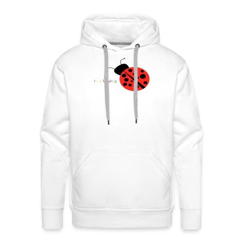 im a ladybug - Mannen Premium hoodie