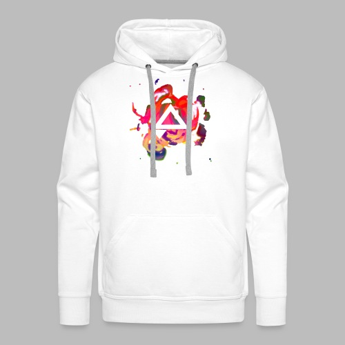 APlays Abstract Explosion Design - Men's Premium Hoodie