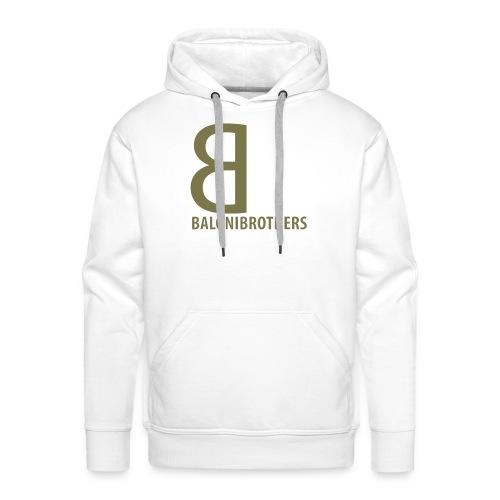 BB-BaloniBrothers Logo - Premium hettegenser for menn