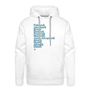 OM 1993-2018 | 25 ans: A JAMAIS LES PREMIERS - Sweat-shirt à capuche Premium pour hommes