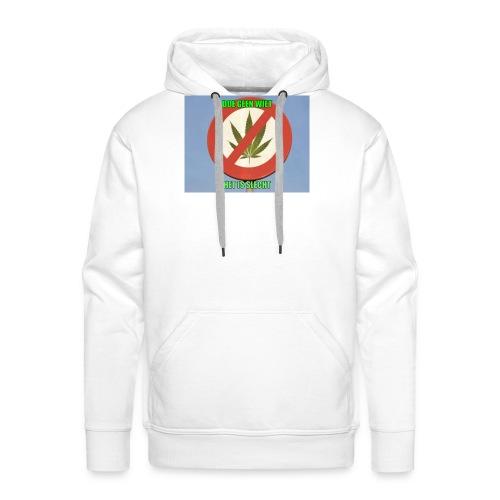 s3 stop wiet case - Mannen Premium hoodie