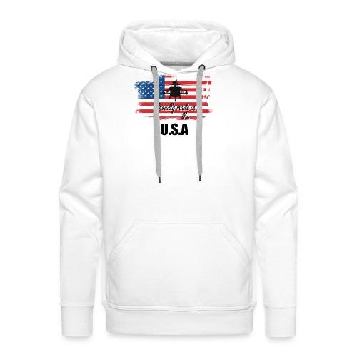 Proud American T-Shirt by Louittor - Männer Premium Hoodie