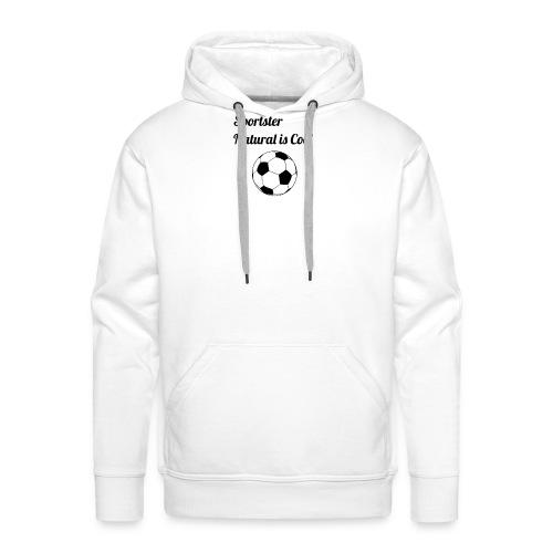 futbol - Sudadera con capucha premium para hombre