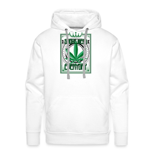 Marijuana Smoke Weed Everyday - Männer Premium Hoodie