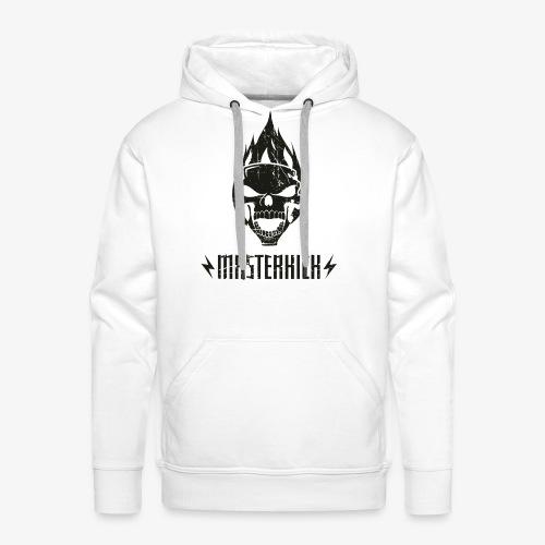 Masterkick logo noir - Sweat-shirt à capuche Premium pour hommes