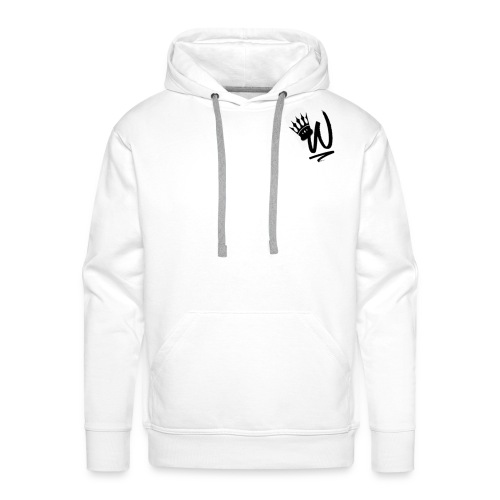ItzWilz Official White T-Shirt - Men's Premium Hoodie