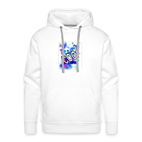 Text Design - 'Cool' - Men's Premium Hoodie